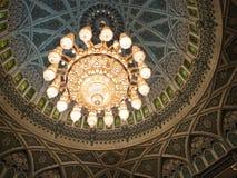 Mosquée grande de Qaboos de sultan Images libres de droits