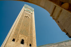 Mosquée Hassan II à Casablanca Photo stock