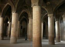 Mosquée intérieure de Jameh (vendredi). Isphahan. l'Iran Image stock