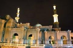 Mosquée la nuit Image stock