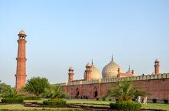 Mosquée Lahore, Pendjab, Pakistan de Badshahi Photographie stock libre de droits
