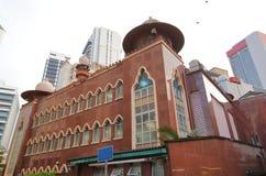 Mosquée Masjid Inde Kuala Lumpur Malaysia images stock