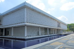 Mosquée nationale Kuala Lumpur photos stock