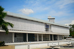 Mosquée nationale, Kuala Lumpur, Malaisie Images stock
