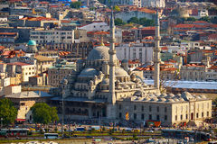 Mosquée neuve, Istanbul, Turquie photographie stock libre de droits