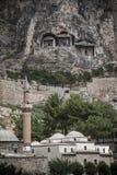 Mosquée traditionnelle dans Amasya, Photographie stock