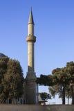 Mosquée turque en parc de montagne de Bakou, Azerbaïdjan Image stock