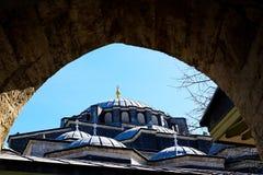 Mosquées et ciel bleu image libre de droits