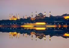 Mosquées Istanbul Turquie images stock