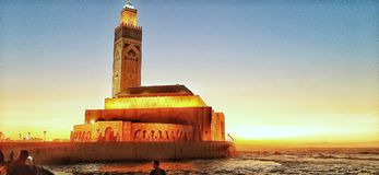 Free Mosquée Hassane2 Casablanca  Morocco Islam Royalty Free Stock Images - 165334679