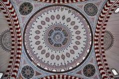 Mosque,伊斯坦布尔,土耳其王子天花板  库存图片