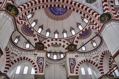 Mosque, Sehzade Camii,伊斯坦布尔,土耳其王子内部  库存图片