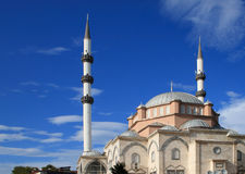 The mosque in �nye (Turkey) Stock Photo