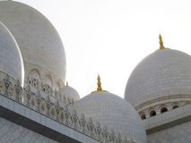 Mosque 02. View of the domes of a mosque Stock Photography