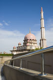 Mosque. Magnificent Mosque at Putra jaya, Malaysia royalty free stock images