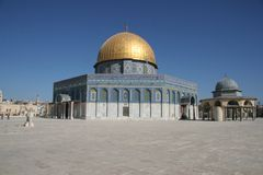 Mosque. Dome of the rock Royalty Free Stock Photo