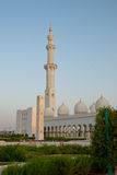 Mosque. Minaret with several domes Stock Photography