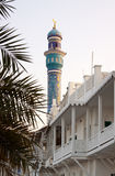 Mosque. Tower of the great mosque of Mutrah, Muscat Royalty Free Stock Image