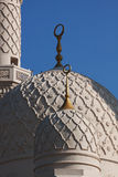Mosque. Detail of Jumeirah Mosque, Dubai Royalty Free Stock Images