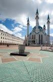 The mosque. The islam mosque in the Kazan kremlin Stock Photo