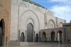 Mosque. Of Hassan II in Casablanca (Morocco Royalty Free Stock Photos