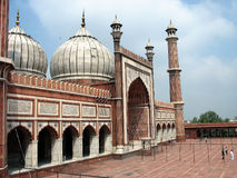 Mosque. The mosque Jama Masjid in Delhi, India Royalty Free Stock Photos