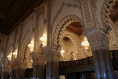 Mosque. Of Hassan II in Casablanca (Morocco Royalty Free Stock Photography