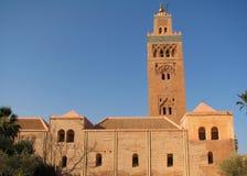 Mosque. The Koutoubia Mosque in Marrakech / Morocco Stock Photography