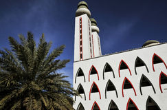 The mosque. Mosque of the Divinity in Dakar, Senegal _ west africa Stock Photos