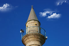 Mosque. Against the blue sky Stock Image