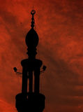 MOSQUE. ISLAM MOSQUE IN A SPECIAL DAY Stock Image