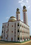 The mosque. Of the Divinity in Dakar, Senegal _ west africa Stock Image