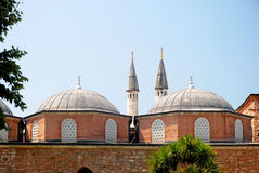 Mosque. Ottoman style mosque, Istanbul Turkey Royalty Free Stock Photo
