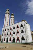 The mosque. A mosque in west Africa stock image
