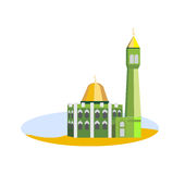 Mosque. The building of the mosque Royalty Free Stock Image