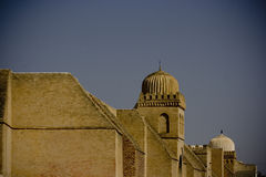 Mosque. The big mosque in Kairouan, the fourth holy city in the world Royalty Free Stock Images