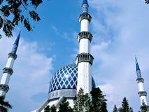 Mosque. Sultan Salahuddin Abdul Aziz, Shah Alam Mosque, Malaysia stock image