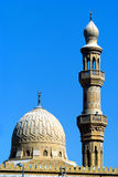 Mosque. Another mosque in Dubai, I have captured only the Minar and the dome Stock Photography
