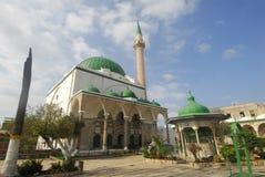 Mosque. Al-Jazzar in Acre, Israel Stock Photos