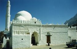 Mosque. A mosque in Taiz town, Yemen Stock Images