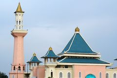 Mosque. A mosque in Malacca, Malaysia stock images