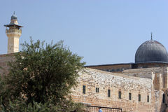 Mosque. El Aqsa Mosque, Situated in the Grouinds of the Dome of the Rock Royalty Free Stock Photos