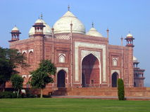 Mosque. A mosque next to the Taj Mahal. Agra. India stock photo