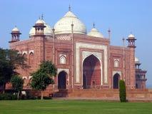 Mosque. A mosque next to the Taj Mahal. Agra. India Stock Photo