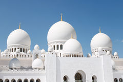 Mosque Abu Dhabi Royalty Free Stock Photos