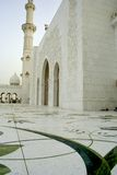 Mosque in Abu Dhabi Stock Photography