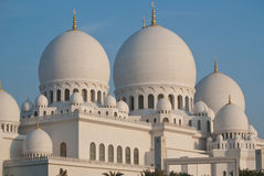 Mosque in Abu Dhabi Royalty Free Stock Images