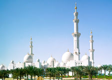 Mosque in Abu Dhabi Stock Photo