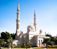 Mosque in Abu Dhabi Royalty Free Stock Photos