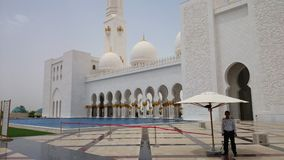 Mosque. In Abu Dhabi Royalty Free Stock Image